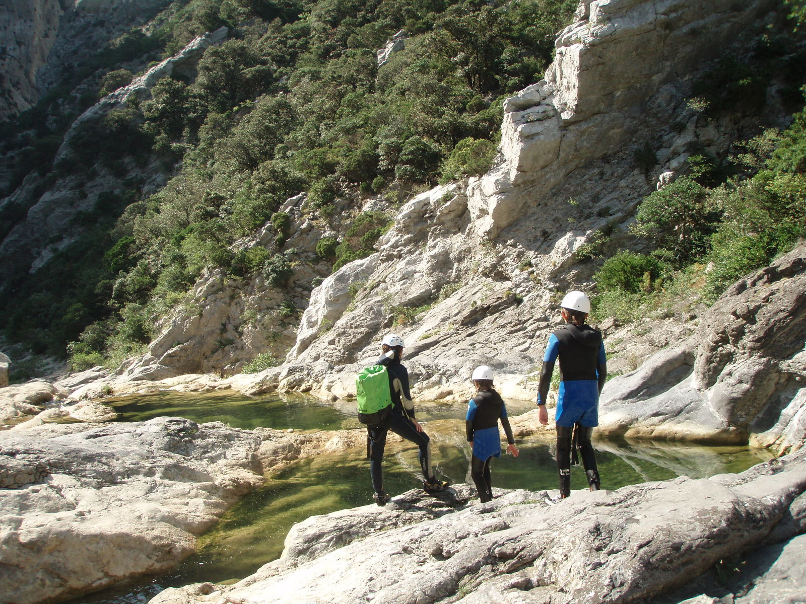 Canyoning dans les Gorges de Galamus (Saint-Paul-De-Fenouillet)