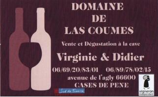 Domaine de Las Coumes à Cases-de-Pène