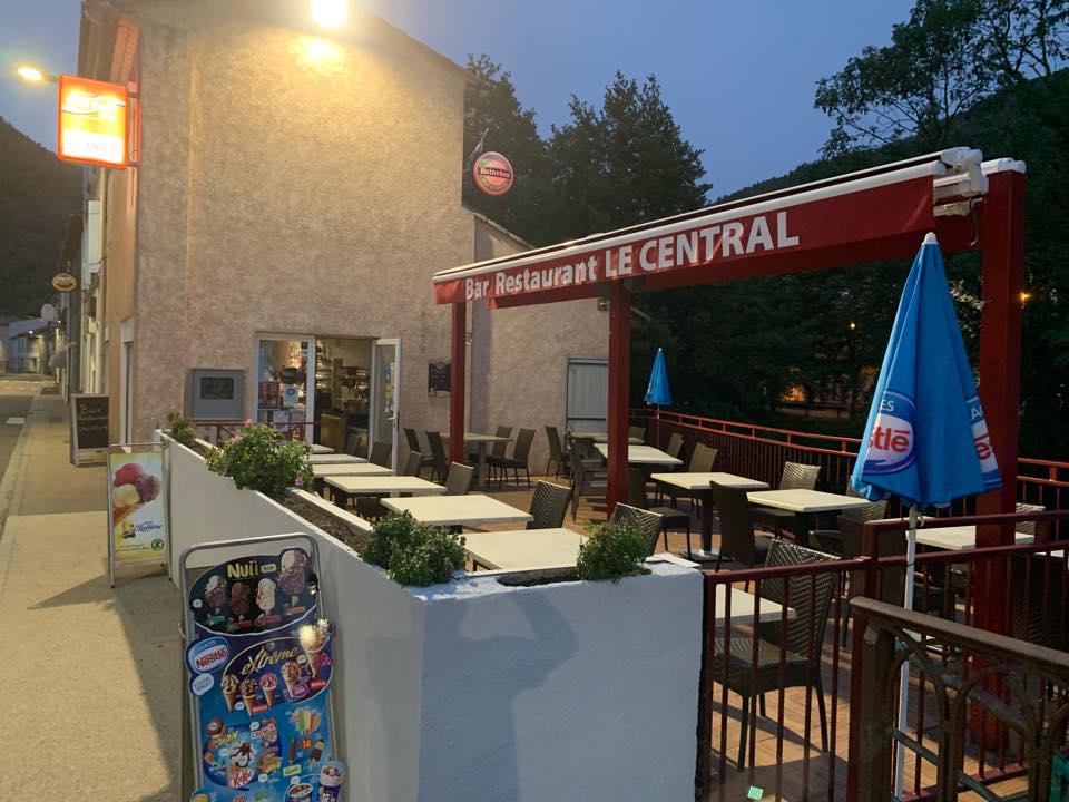 Café Le Central à Axat