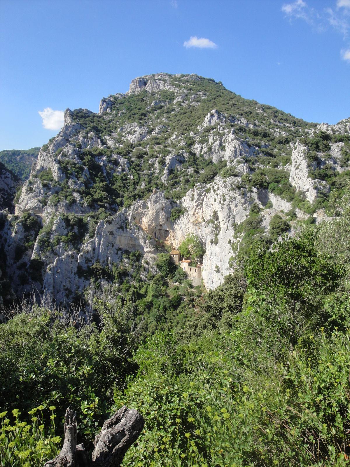 L'ermitage Saint-Antoine de Galamus